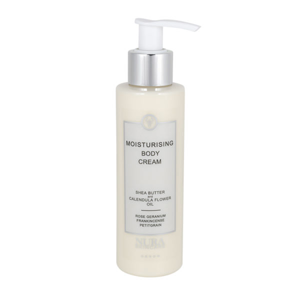 Moisturising Body Cream with Rose Geranium & Frankincense