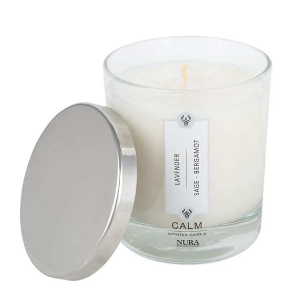 Scented Soy Wax candle without silver lid