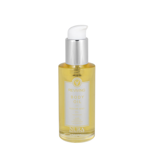 Rose Body Oil with Rose Geranium